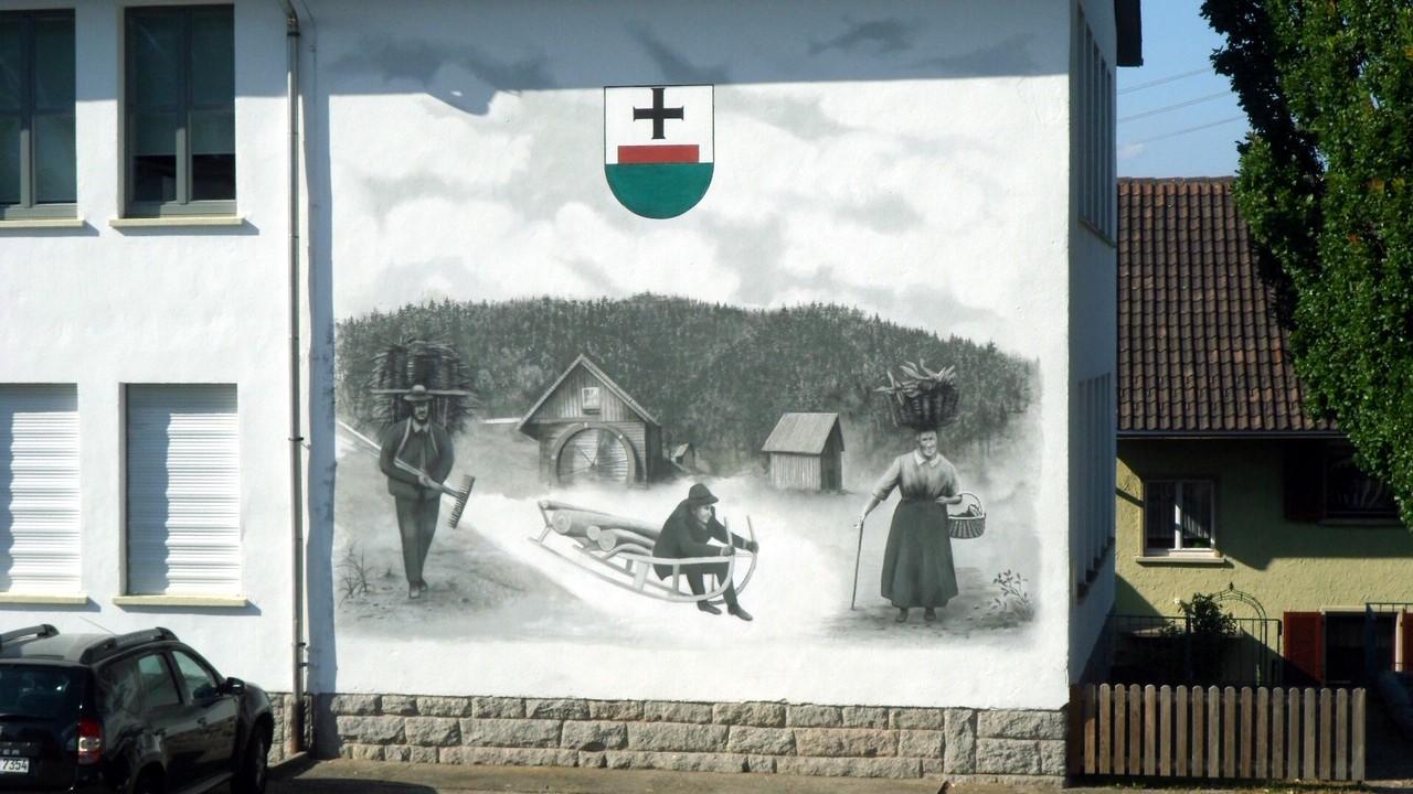 Wandbild Renoviert